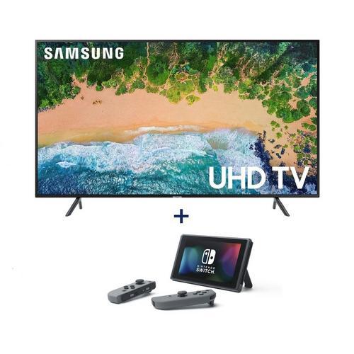 "65"" Class Class Smart 4K UHD TV & Nintendo Switch Bundle"