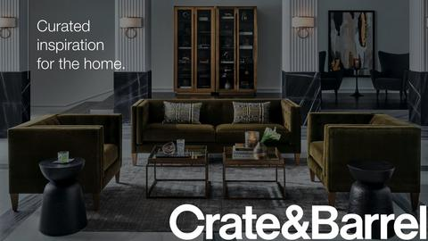 Crate and Barrel - hero image