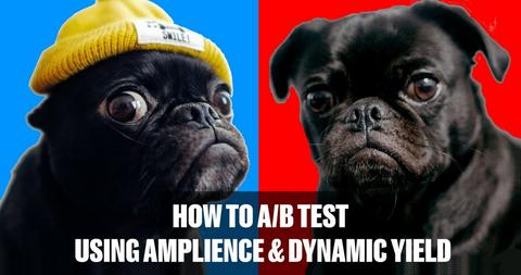 A/B testing with Amplience Dynamic Content and Dynamic Yield