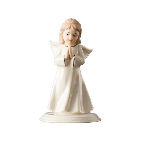 Belleek Mini Angel Of Prayer