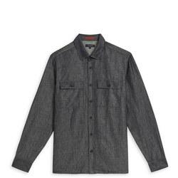 1000378441: Puzzled Denim Shirt