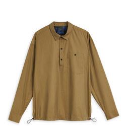 1000378480: Helpout Bungee Waist Shirt