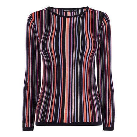 Karen Millen Striped Knit Jumper