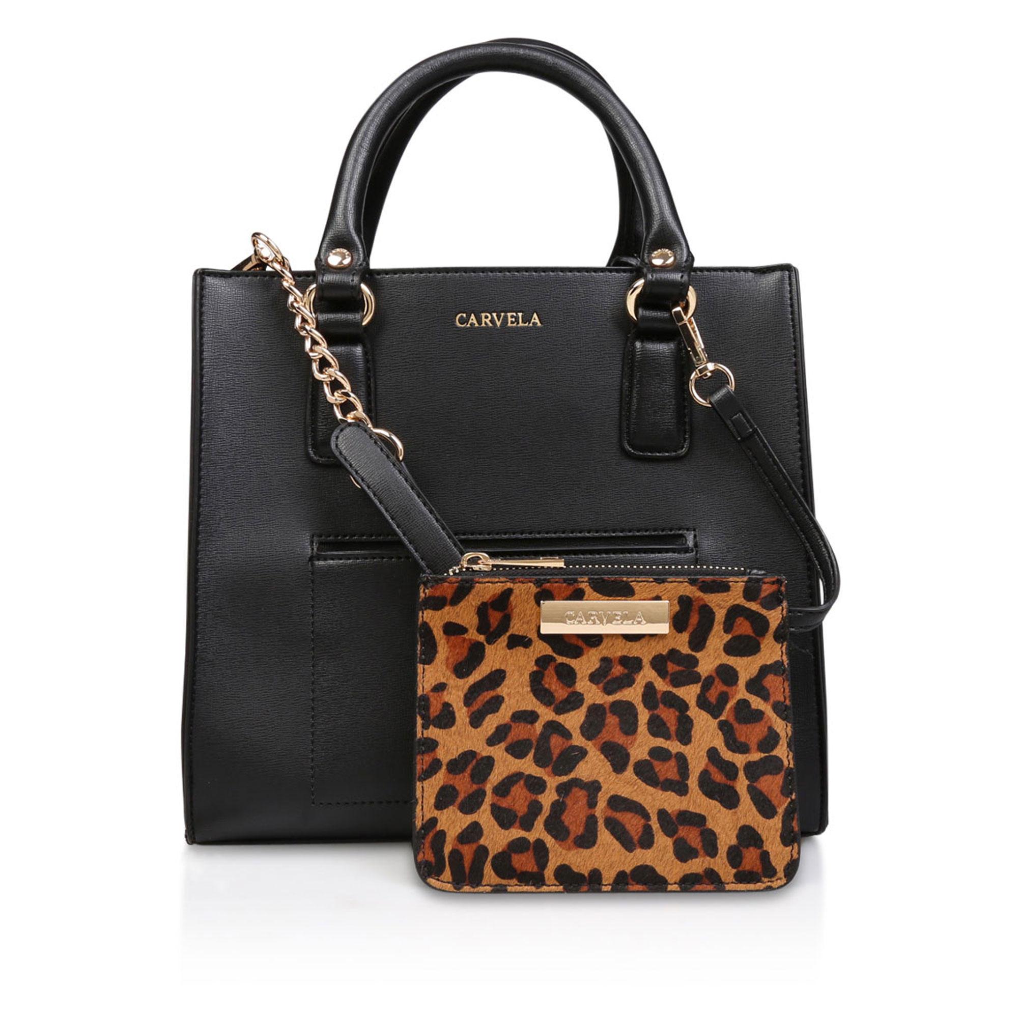 600013502039791600BLACK: Simba Pocket Purse Tote Bag