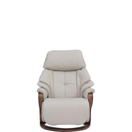 HIMOLLA Chester Small Swivel Recliner Chair Lava | Arnotts