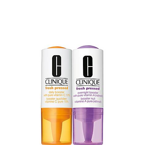 Fresh Pressed Clinical™ Daily + Overnight Boosters with Pure Vitamins C 10% + A (Retinol)  Duo, ${color}