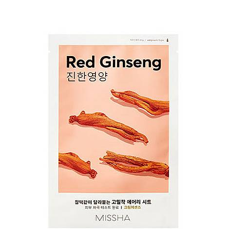 Red Ginseng Airy Fit Sheet Mask, ${color}