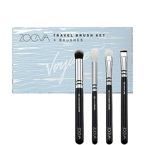 Voyager Travel Brush Set , ${color}