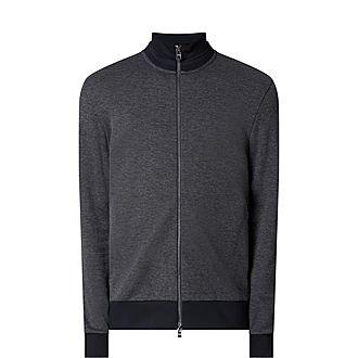 Shepard Zip Through Sweatshirt