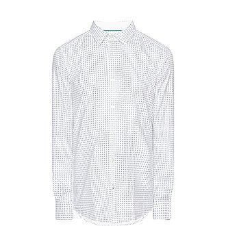 Lucas Tree-Print Shirt