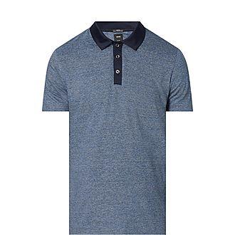 Plater Fine Stripe Polo Shirt