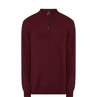 Tisbury Half-Zip Rugby Sweater