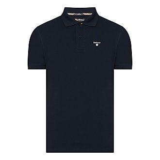 Tartan Piqué Polo Shirt