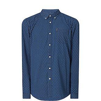 Long Sleeve Dobby Shirt