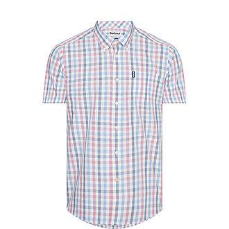 Short Sleeve Tattersall Shirt