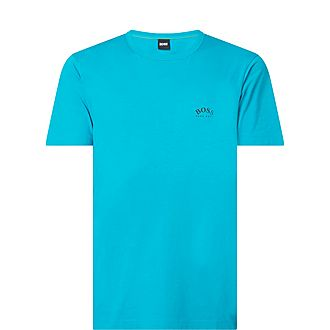 Curved Logo T-Shirt