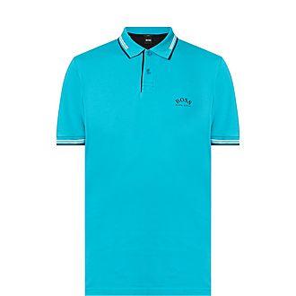 Paul Curve Logo Polo Shirt