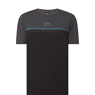 Tee 4 Colour Block Crew-Neck T-Shirt