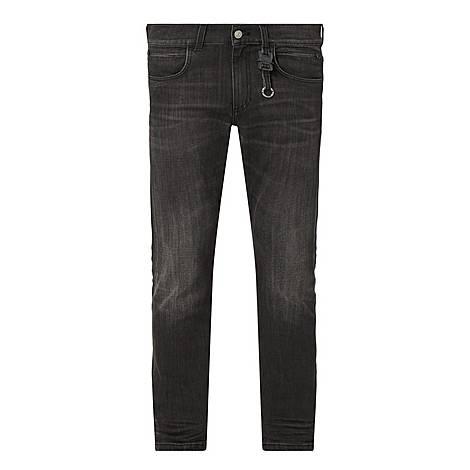 Nylon Buckle Jeans, ${color}