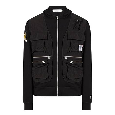 Tactile Zip-Through Jacket, ${color}