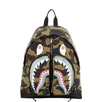 Shark Camouflage Backpack