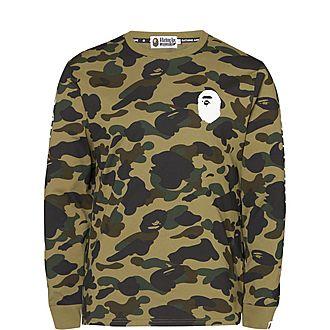 Camo Long Sleeved T-Shirt