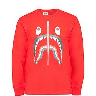 Shark Long Sleeved T-Shirt