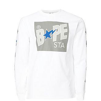 Star Box Print Sweatshirt