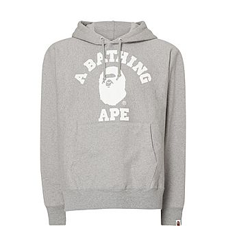 Relaxed College Hoodie
