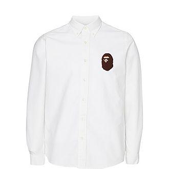 Large Ape Head Oxford Shirt