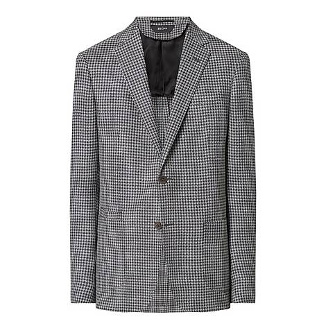 Houndstooth Suit Jacket , ${color}