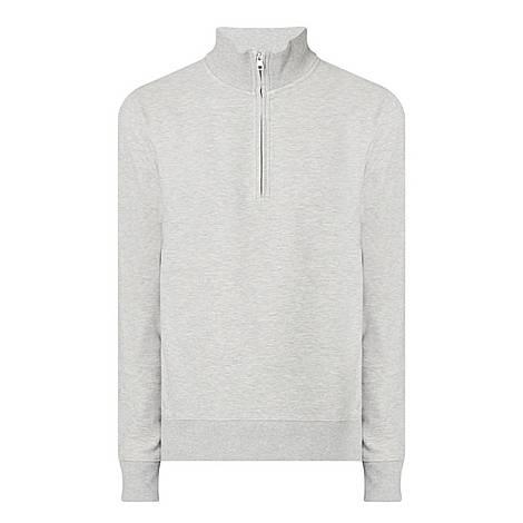 Half-Zip Structure Sweater, ${color}