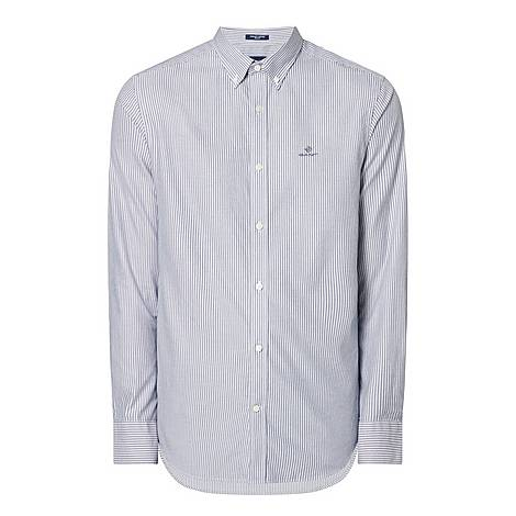 Pinstripe Oxford Shirt, ${color}