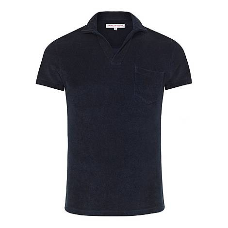 Terrycloth Polo Shirt, ${color}