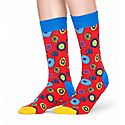 Beatles Flower Socks, ${color}