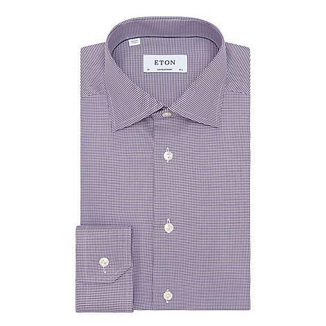 Contemporary Fit Micro Geometric Square Shirt, ${color}