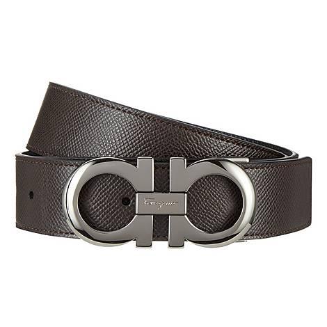 Logo Buckled Belt, ${color}