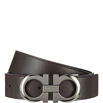 Logo Buckled Belt