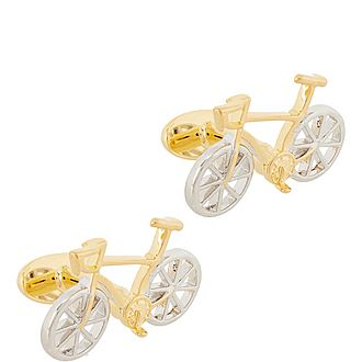 Racer Bike Cufflinks