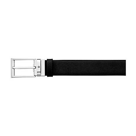 Grained Leather Reversible Belt, ${color}