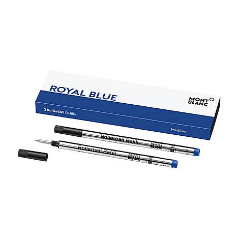 Set of Two Rollerball Refills in Royal Blue, ${color}