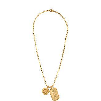 Medusa Chain Necklace