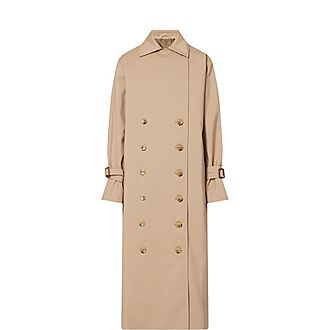 Pisa Double-Breasted Trench Coat