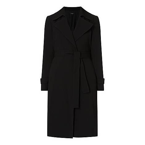 Oaklene Crepe Coat, ${color}