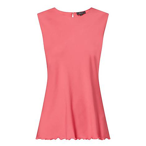 Ruffle Shell Top, ${color}