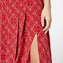 Georgia Square Paisley Skirt, ${color}
