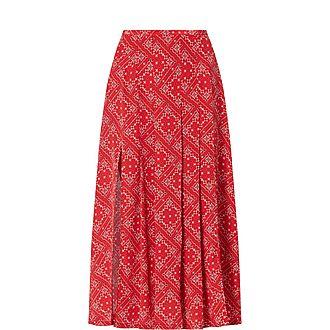 Georgia Square Paisley Skirt