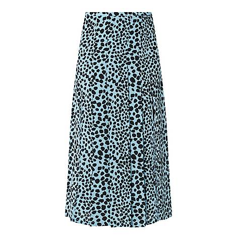 Georgia Leopard Skirt, ${color}