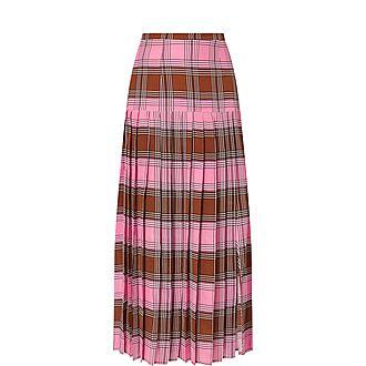 Tina Check Skirt