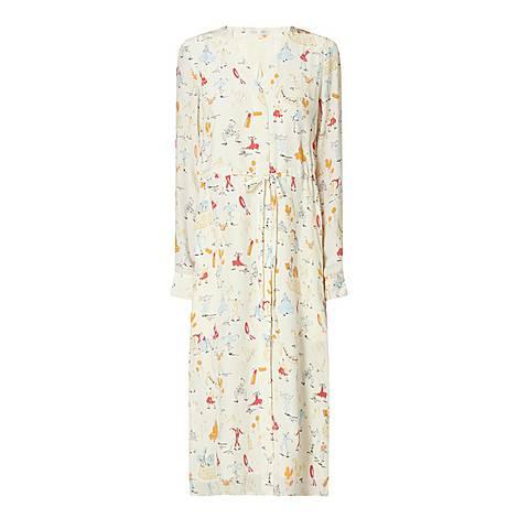 Camilla Silk Dress, ${color}